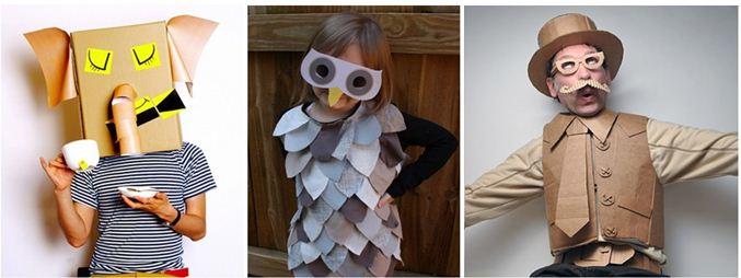 Disfraces de reciclaje niñas - Imagui